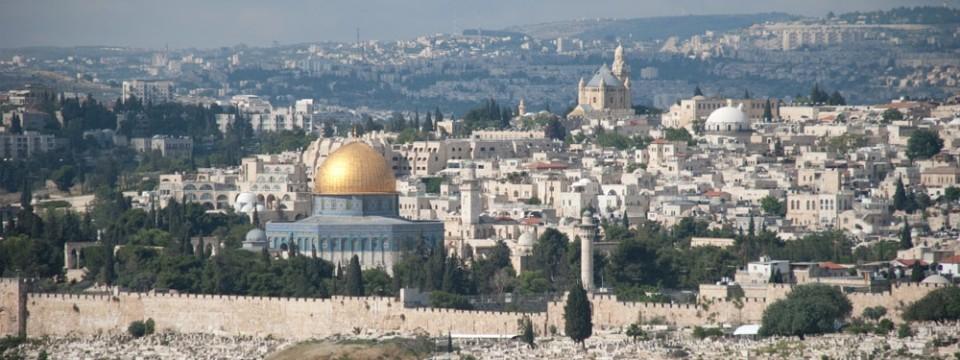 Jerusalén es un sitio importante de peregrinación para las religiones judías y cristianasJerusalén es un sitio importante de peregrinación para las religiones judías y cristianas