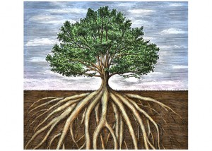 La Fitrah se asemeja a las raízes de un árbol, que le asientan en la tierra y lo hacen firme