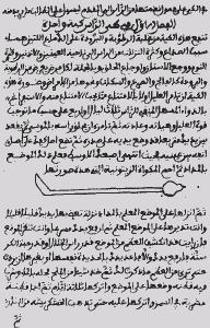 Una página del manuscrito original Al-tasrif