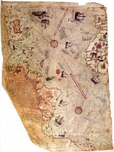 El mapa elaborado por Piri Reis que obligó a re-eveluar la teoría de la exploración de Colón