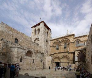 La iglesia del Santo Sepulcro, la cual Umar prometió proteger y que aún sigue en pie