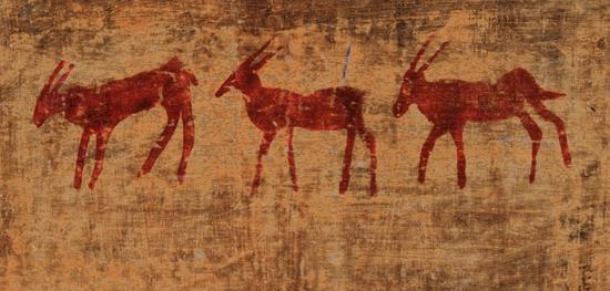 Las pinturas del hombre de la caverna es un indicación de su predisposición a observar y apreciar la belleza del universo