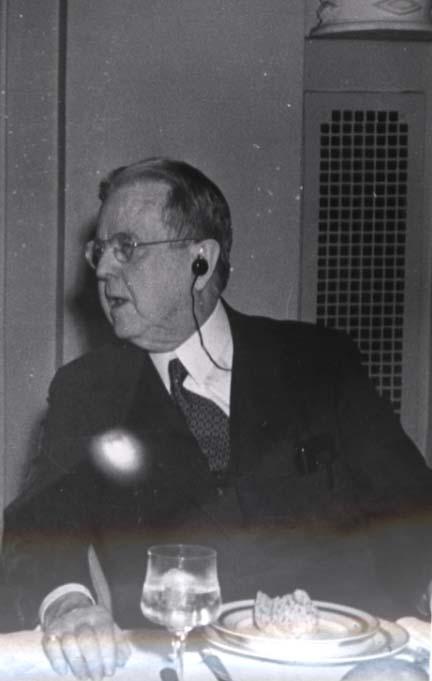 El científico Mr. A. Cressy Morrison