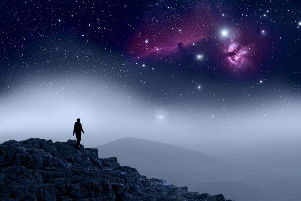 El universo y nosotros mismo somos pruebas de que Dios existe